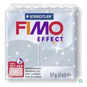 Fimo Effect 57G Argent Pailleté / 8020-812 - DTM2610M81 FIMO