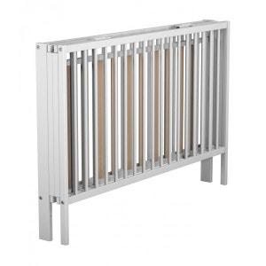 Lit bébé pliant blanc à barreaux 60x120 TERRE DE NUIT