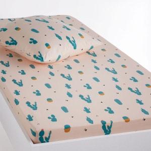 Drap-housse imprimé, Cactus La Redoute Interieurs