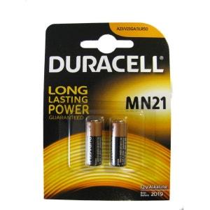 Pile DURACELL MN21 blister X 2 DURACELL