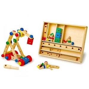 jeu de construction 84 pices bois legler - Jeu De Construction De Maison Gratuit