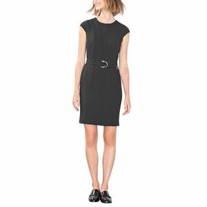 Sukienka z 3 otworami i z paskiem ESPRIT