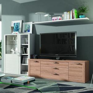 Meuble tv meuble tv design blanc d 39 angle la redoute for Atylia meuble tv