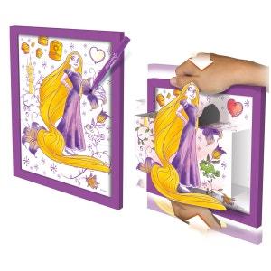 Coloriage et tableau 3D Princesse Disney : Raiponce LANSAY