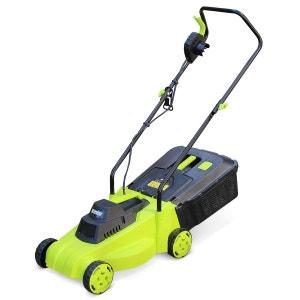 Tondeuse à gazon électrique 1300W VOLTR, récupérateur d'herbe 30L, 32cm coupe ALICE S GARDEN