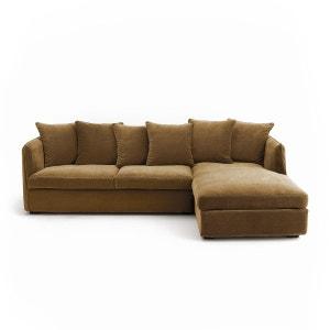 canape droit beige la redoute. Black Bedroom Furniture Sets. Home Design Ideas