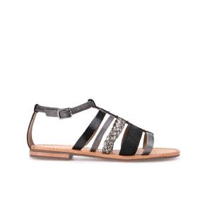 D Audalies H. San. A Leather Sandals GEOX