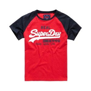 Vintage Logo Raglan Short-Sleeved T-Shirt SUPERDRY