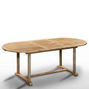 Table teck, 6 à 10 places, 1 allonge repliable La Redoute Interieurs