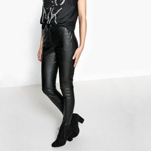 Pantalon slim simili La Redoute Collections