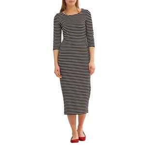 Maxi Fitted Breton Dress ESPRIT
