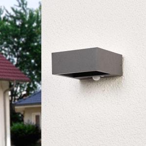 Applique d?extérieur LED solaire Mahra, détecteur LAMPENWELT