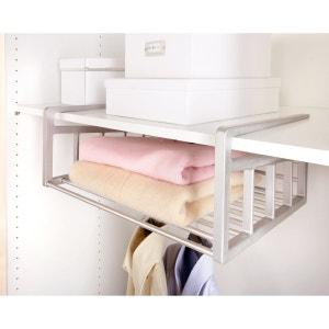 Étagère panier Aréglo, gain de place extensible pour étagère La Redoute Interieurs