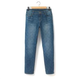 Jeans girlfriend estampado às estrelas 10-16 anos R teens
