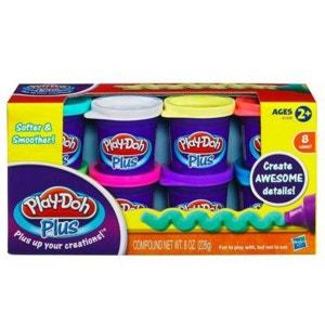 Pâte à modeler Play-Doh : 8 pots Play Doh Plus HASBRO