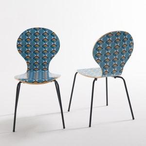 Chaise imprimée ( lot de 2), Barting La Redoute Interieurs