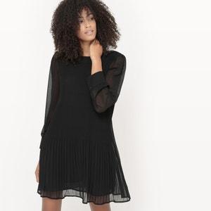 Sukienka z plisowanego woalu MADEMOISELLE R