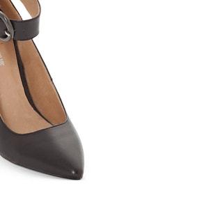 Zapatos de piel con correa y hebilla atelier R