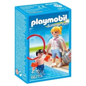Maître Nageur avec Enfant - PLA6677 PLAYMOBIL