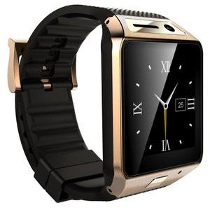 Smartwatch Bluetooth appareil photo montre téléphone connectée Or Yonis