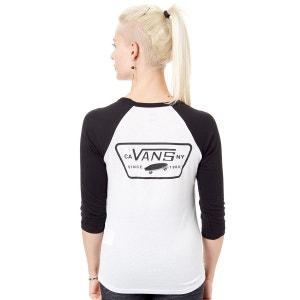 T-shirt femme bicolore à manches longues Full Patch VANS