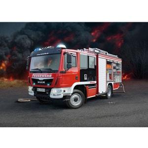 Maquette camion de compiers SMAN TGM Schlingmann HLF 20 Varus 4X4 REVELL