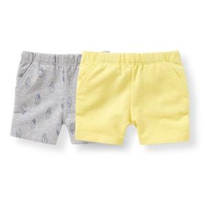 Shorts felpa 1 mese-3 anni (confezione da 2) R édition