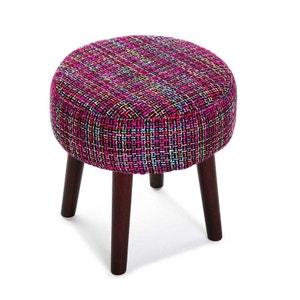 housse de pouf rond la redoute. Black Bedroom Furniture Sets. Home Design Ideas