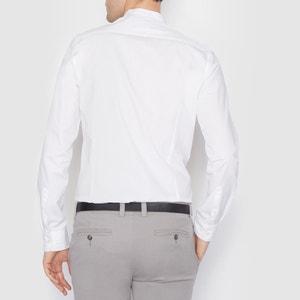 100% Cotton Slim Fit Shirt La Redoute Collections