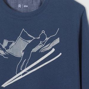 T-shirt met lange mouwen 10 -16 jr R pop