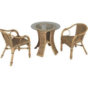 Table et chaise de jardin AUBRY GASPARD