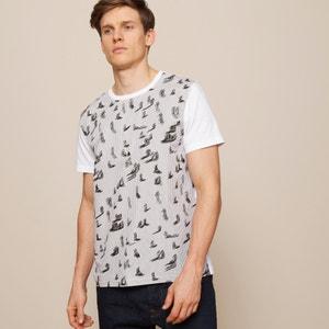 T-shirt bimatière CARVEN