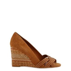 Avimi Leather Wedge Sandals COSMOPARIS