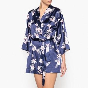 Kimono con motivo de flores La Redoute Collections