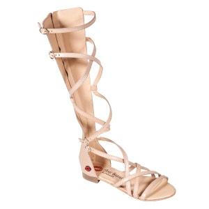 Sandales hautes Valentina à lacets BONS BAISERS DE PANAME