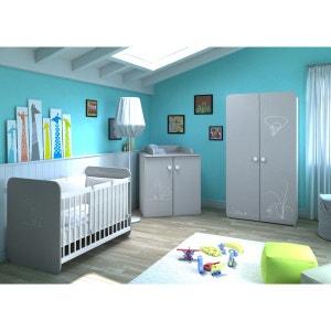 Chambre bebe gris anthracite | La Redoute
