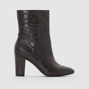 Boots met croco aspect atelier R