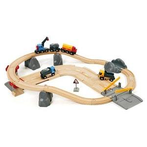Circuit Rail Route Transport de Roches - BRI33210 - BRI33210002 BRIO