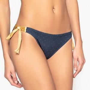 Culotte per bikini, con laccetti a pois La Redoute Collections