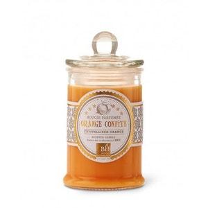 Bougie parfumée bonbonnière 30h orange confite BOUGIES LA FRANÇAISE