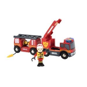 Camion de pompiers sons et lumières BRIO