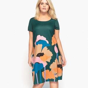 robe droite en maille, imprimée CASTALUNA