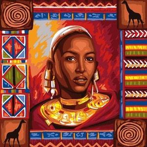 Déco par numéro Initiés : Souvenirs d'Afrique OZ INTERNATIONAL