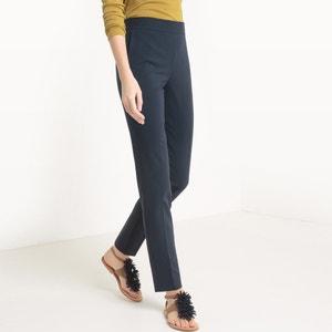 Pantalon slim, taille élastiquée R essentiel