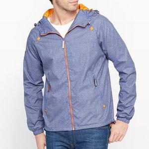 Dual Zip Through Cagoule Jacket with Hood SUPERDRY