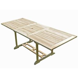 Table de jardin en teck AMARA 8/10 places C ET L JARDIN