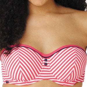 Haut de maillot de bain bandeau à armatures Cleo by Panache LUCILLE coral CLEO BY PANACHE BAIN