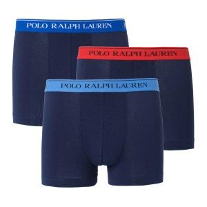 Boxer uni POLO RALPH LAUREN (lot de 3) POLO RALPH LAUREN