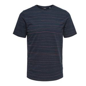 Koszulka z okrągłym wycięciem szyi, nadrukiem i krótkim rękawem ONLY & SONS