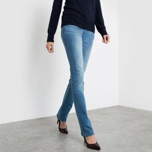 Regular-Jeans, Stretch, normale Bundhöhe, Länge 34 R essentiel